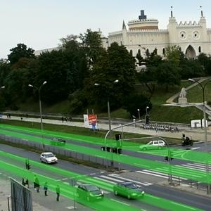 System Zarzadzania Ruchem w Lublinie Smart City Qumak