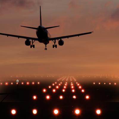 Infrastruktura lotnicza modlin oswietlenie