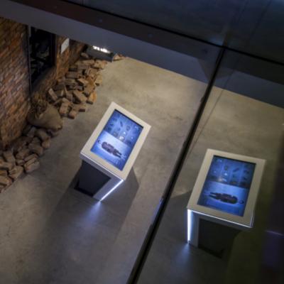 Ekspozycja multimedialna w Muzeum Powstan Slaskich