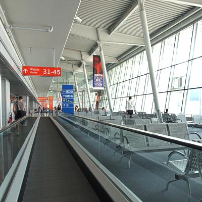 terminal lotniskowy okecie Qumak