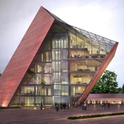 Muzeum II wojny swiatowej Qumak Ekspozycja multimedialna