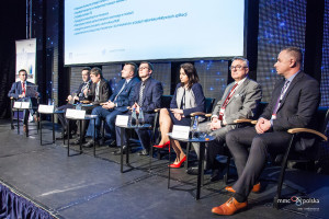 Panel dyskusyjny Transport podczas Smart City Forum 2016 (fot. MMC)