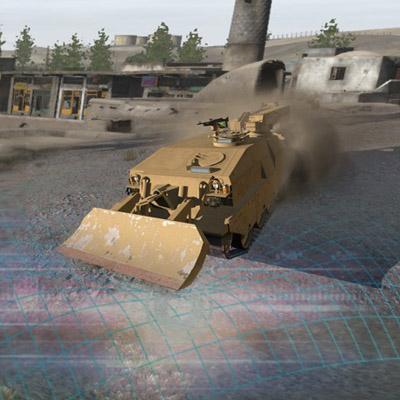 Symulator robotow wojskowych Qumak
