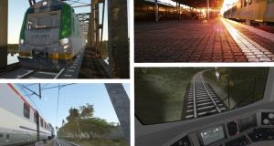 Rendery zdjecia symulator lokomotywy SIMTRAQ QUMAK