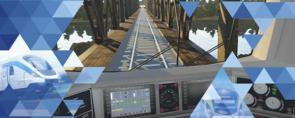 Symulator lokomotywy SIMTRAQ Qumak