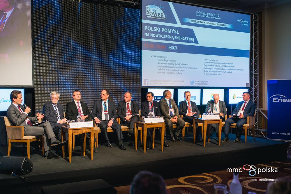 """Tomasz Laudy, prezes Qumak SA, uczestniczy w panelu """"Polski pomysł na nowoczesną energetykę"""" (fot. MMC Conferences)"""