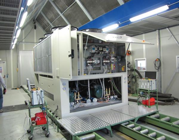 Data Center test agregatu chlodniczego