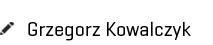 Identity Management expert - Grzegorz Kowalczyk podpis