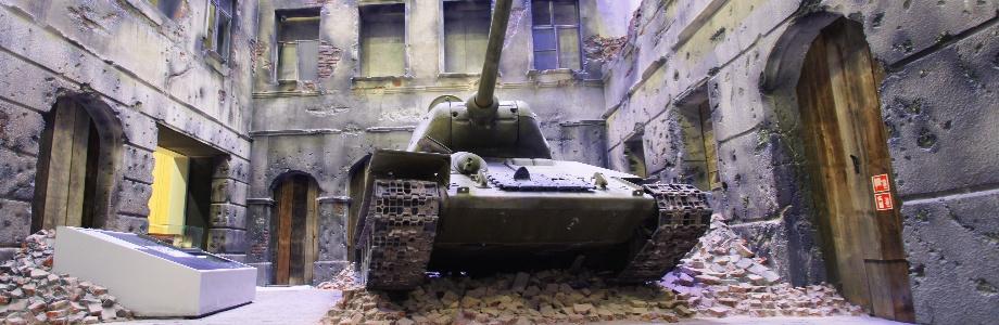 Ekspozycja multimeidalna Muzeum II Wojny Swiatowej w Gdansku