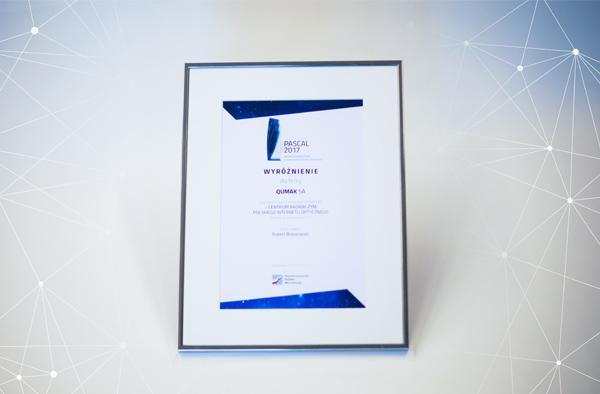 Nagroda za projekt klimatyzacji dla Data Center