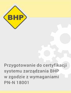 BHP certyfikacja Qumak
