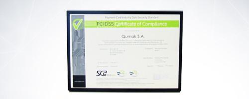 Certyfikat bezpieczeństwa Qumak